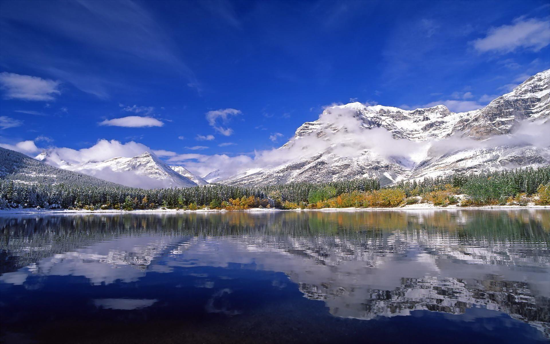 Wedge Pond, Alberta, Canada
