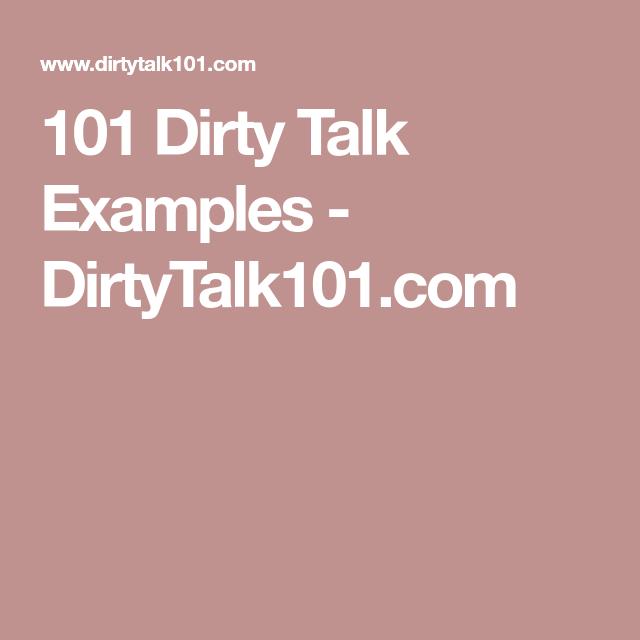 101 Dirty Talk Examples Dirtytalk101 Poindexter Brown Sr