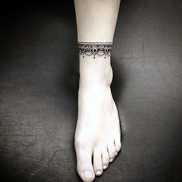 Pin By Betty On Tatuajes Ankle Bracelet Tattoo Wrist Tattoos For Guys Ankle Band Tattoo