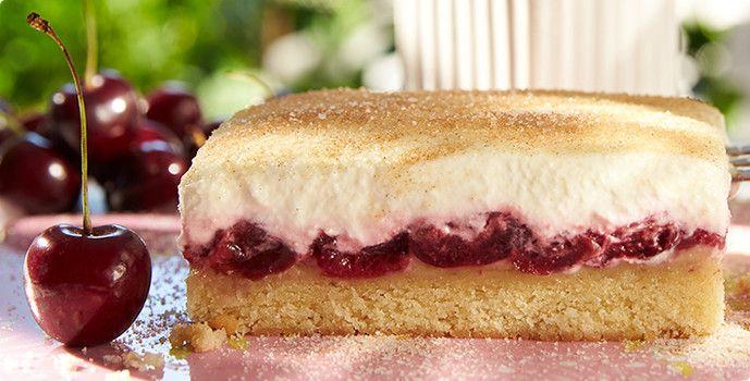 Rezept: Kirsch-Schmand-Kuchen