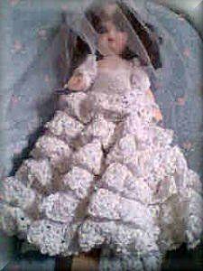 Bride Doll Air Freshener #airfreshnerdolls
