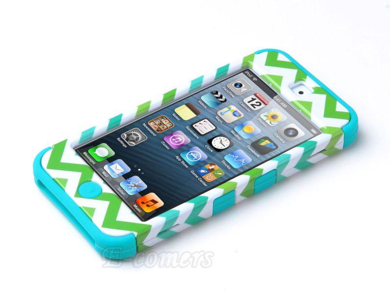 Hybrid Rugged Rubber Matte Hard Case Cover Skin for Apple iPod Touch 5 5th Gen | eBay