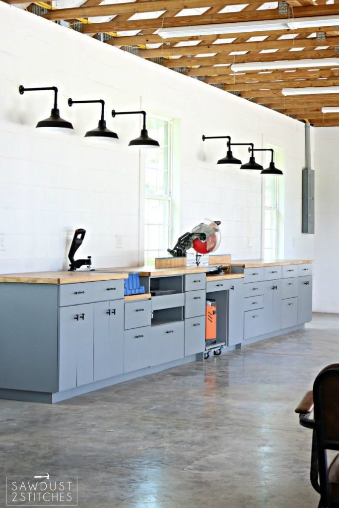 My Dream Workshop Cabinets