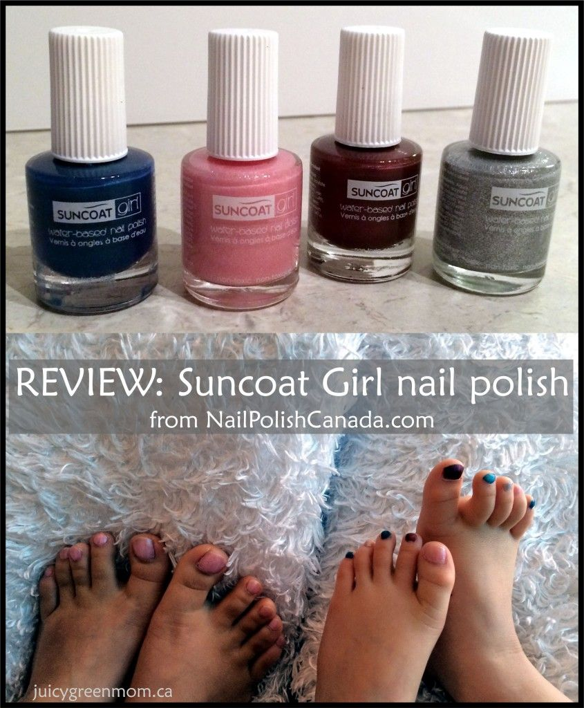 REVIEW: Suncoat Girl nail polish from Nail Polish Canada | Girls nails