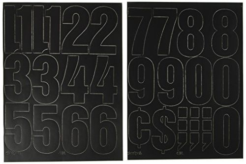 Chartpak 4 Inch Vinyl Numbers Black 01193 Additional Details Http Www Amazon Com Gp Product B002jgal8e Tag Homeimprtip08 With Images Hardware Store Vinyl Hardware