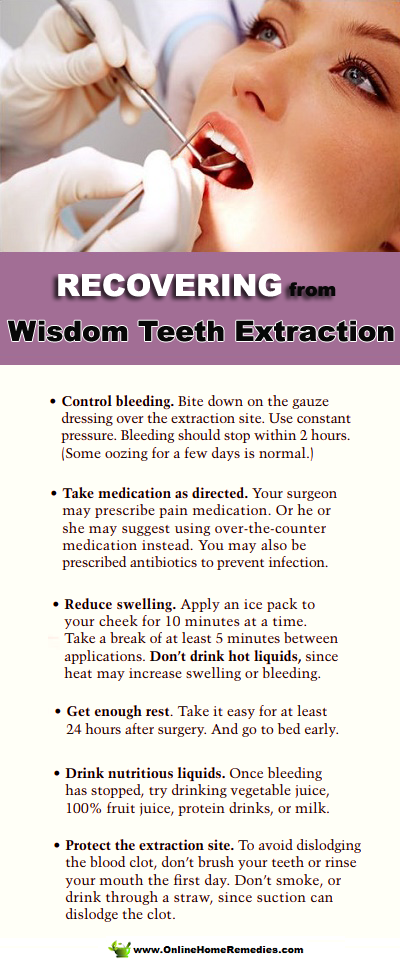 Recovering From Wisdom Teeth Extraction Wisdom Teeth Wisdom Teeth Healing Wisdom Teeth Removal