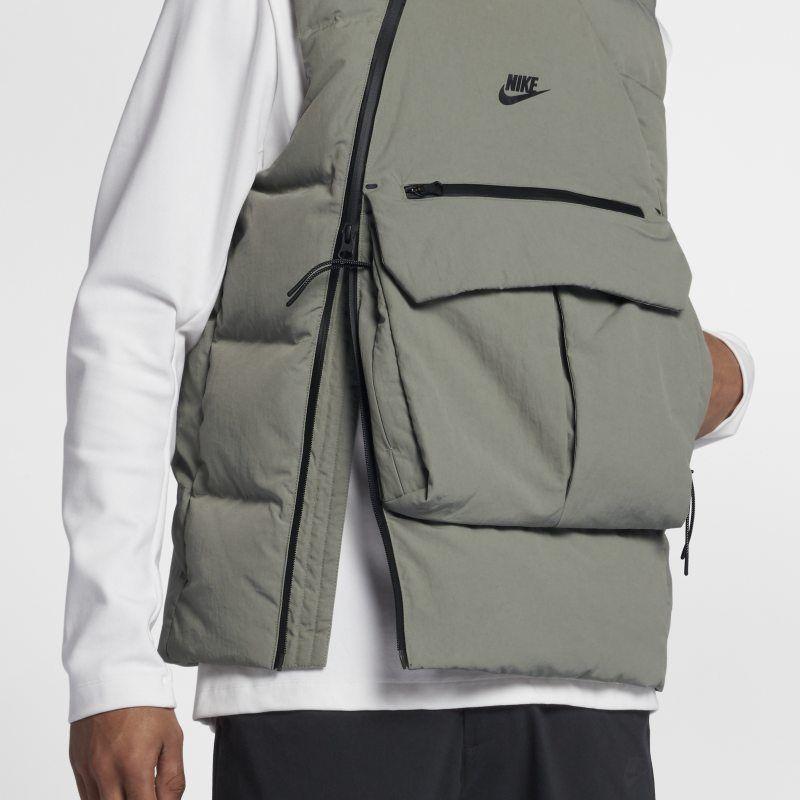 984c0ba67 Nike Sportswear Tech Pack Down-Fill Men's Gilet - Grey in 2019 ...