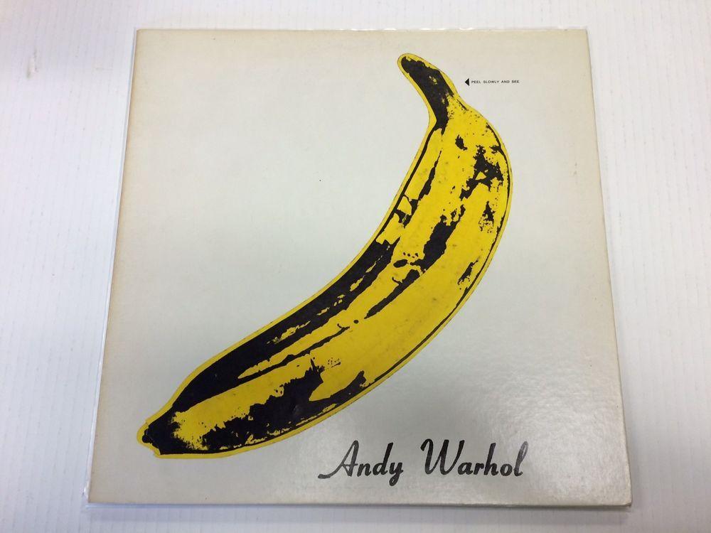 The Velvet Underground Amp Nico Lp Andy Warhol Unpeeled