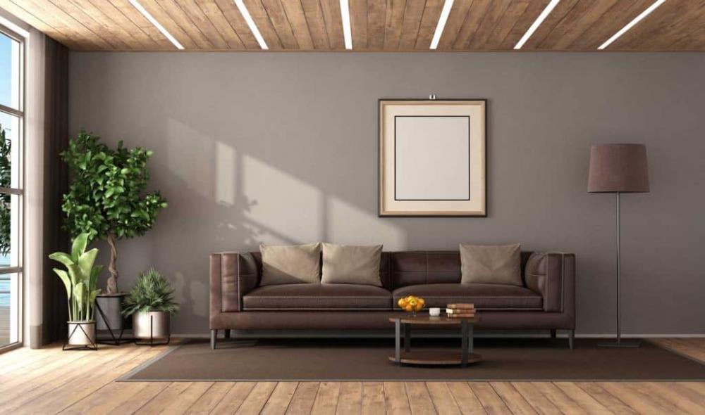 17 Dark Brown Leather Sofa Decorating Ideas - Home Decor ...