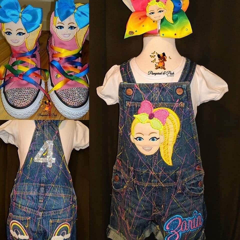 JoJo Siwa Custom birthday outfit Jojo siwa, Birthday