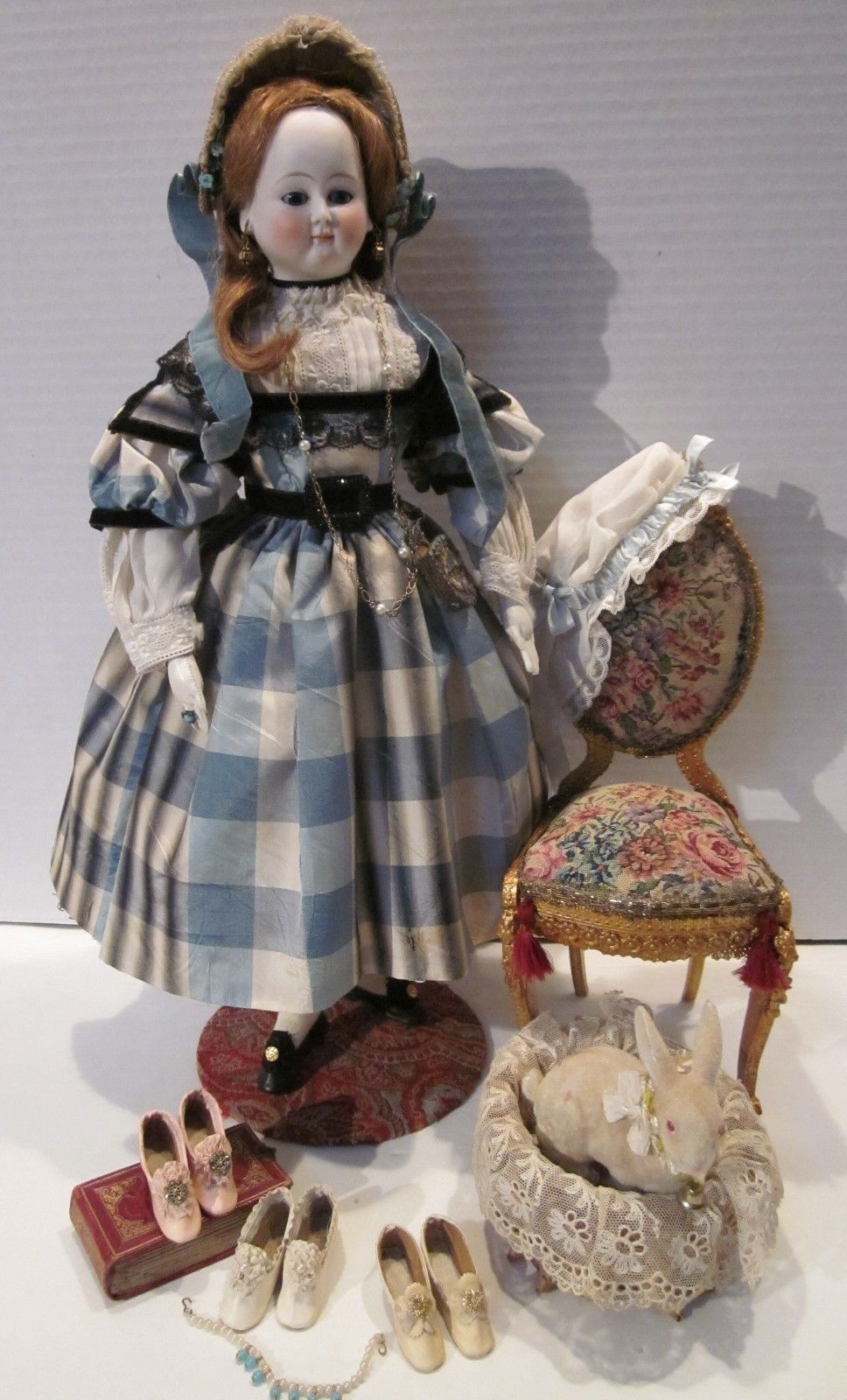 Evangeline A Fashion Doll C 1865 with Her Extensive Wardrobe and Accessories   eBay