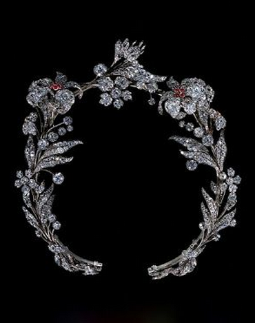 ♕ Crown Couture ♕ Ruby and Diamond Tiara 1835 Western Europe The Victoria & Albert Museum