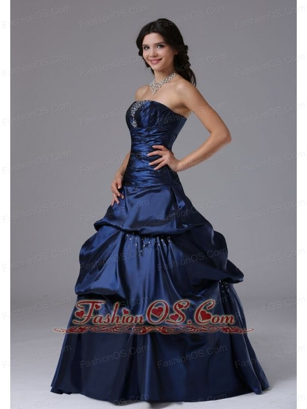 Beaded Decorate Bust and Ruch Bodice For 2013 Military Ball Gowns In ...