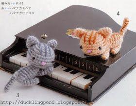ducklingpond: Cats crochet pattern