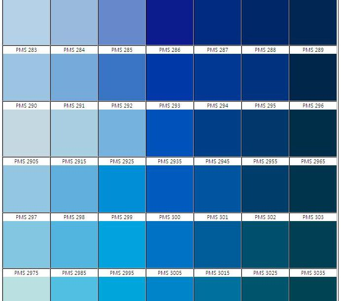 Pantone blues google search szabo maternity summer for Shades of blue colours