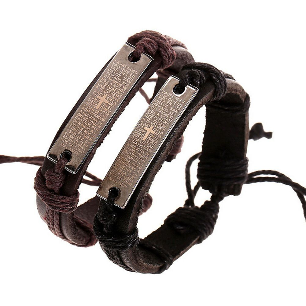 Bracelets ebay jewellery u watches bible scriptures leather