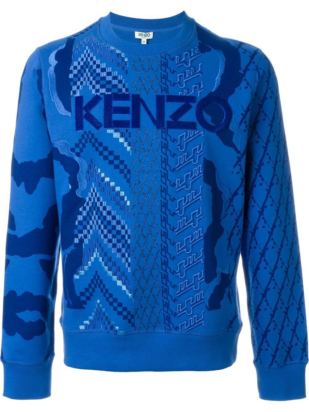 Kenzo Sweatshirt mit Textur