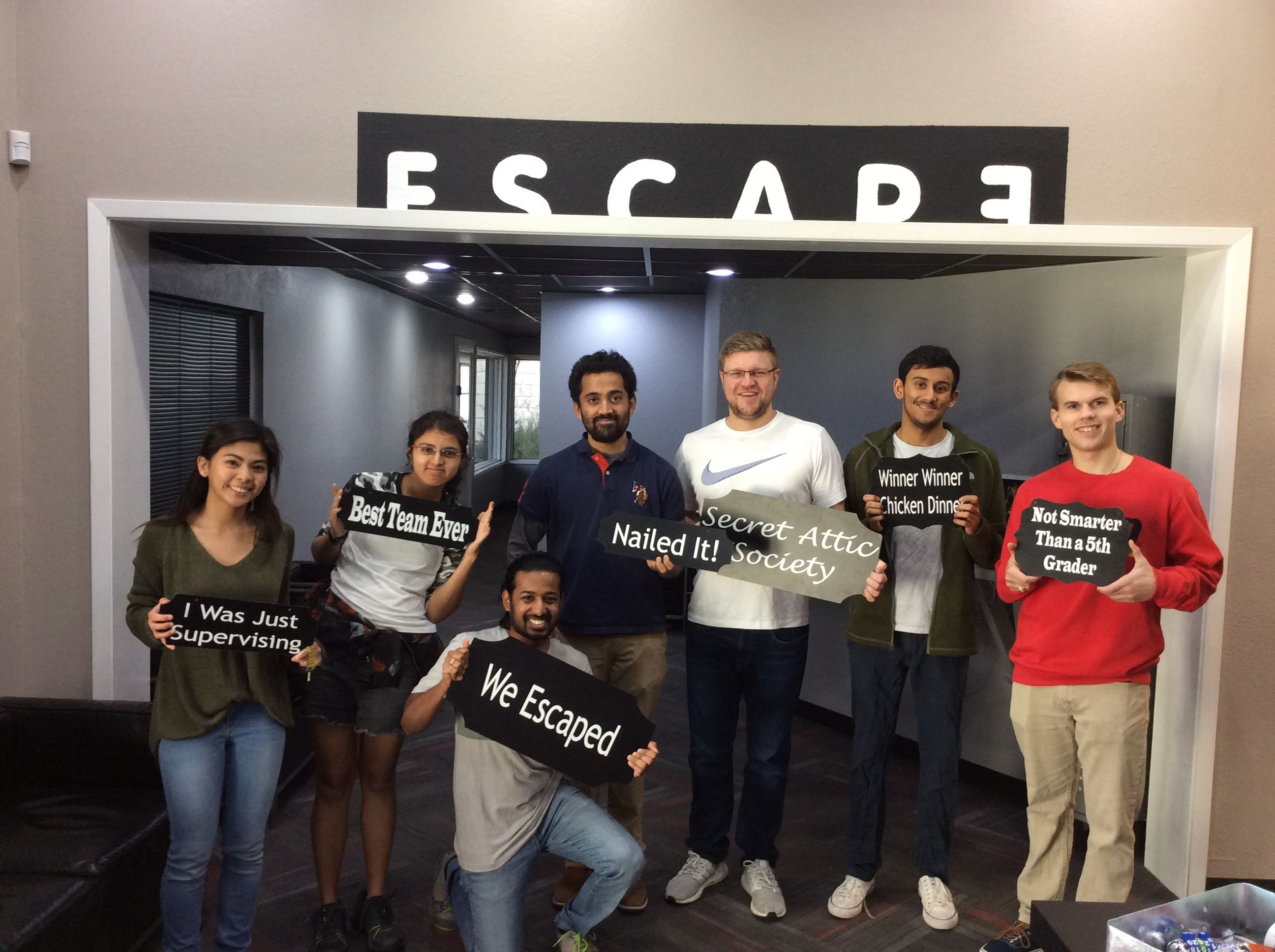 These Curious Puzzle Seekers Found Their Way Out Of The Secret Attic Society In 51 Minutes In 2020 Society The Secret Attic