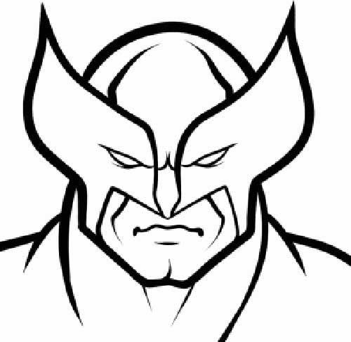 35 Desenhos Do Wolverine Para Imprimir E Colorir Em Casa