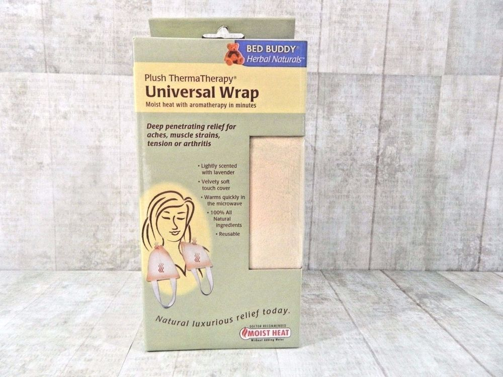 Bed Buddy Hot Wrap Plush Therma Therapy Universal Herbal