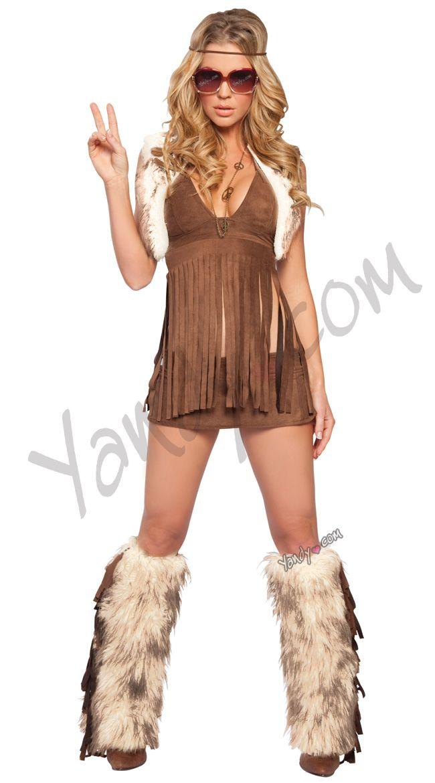 c5c27b1278a8 Groovy Woodstock Baby Costume, Sexy Woodstock Costume, Woodstock Halloween  Costume