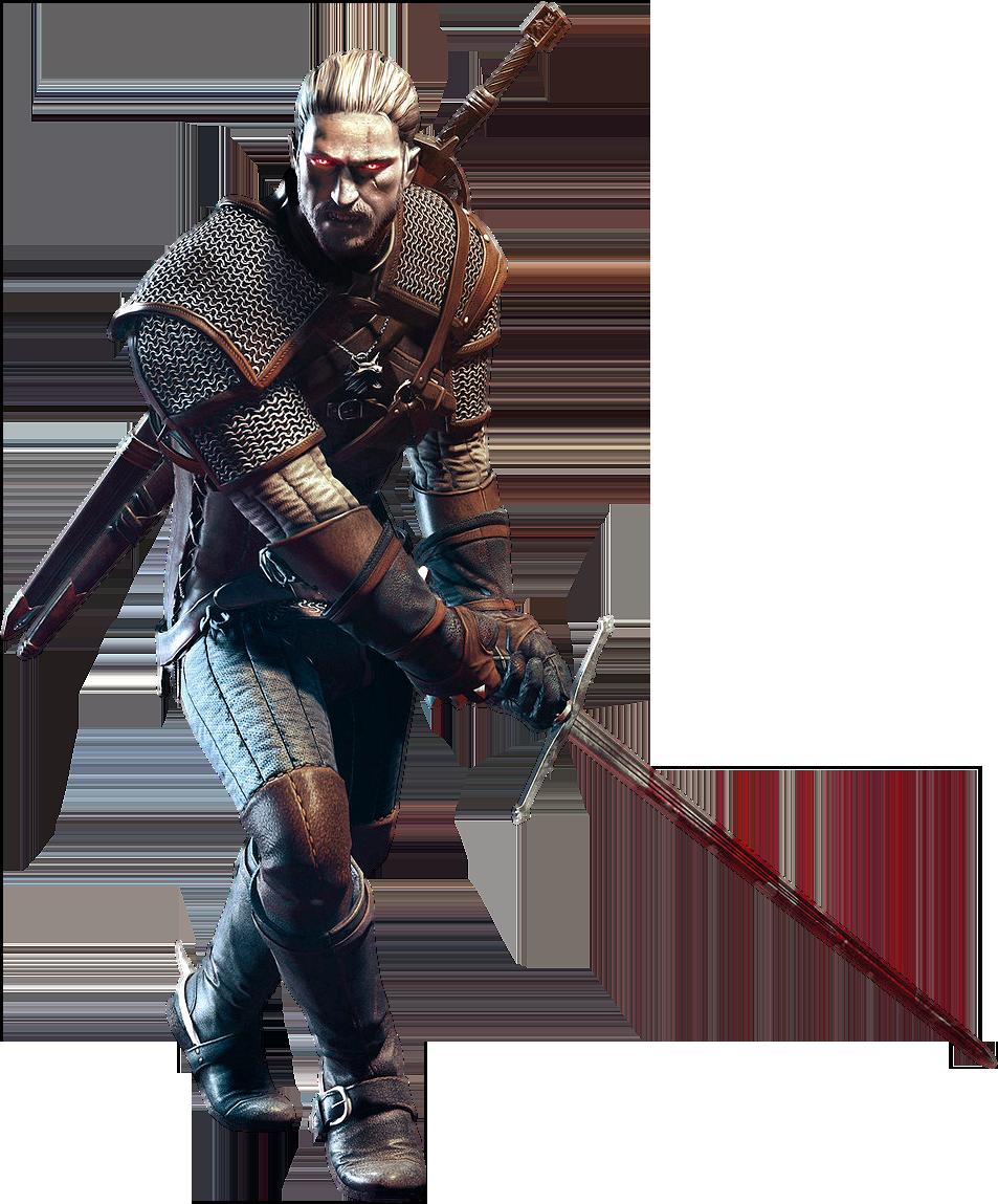 Geralt Of Rivia 2 By Ivances D6iz9qm Png 953 1149