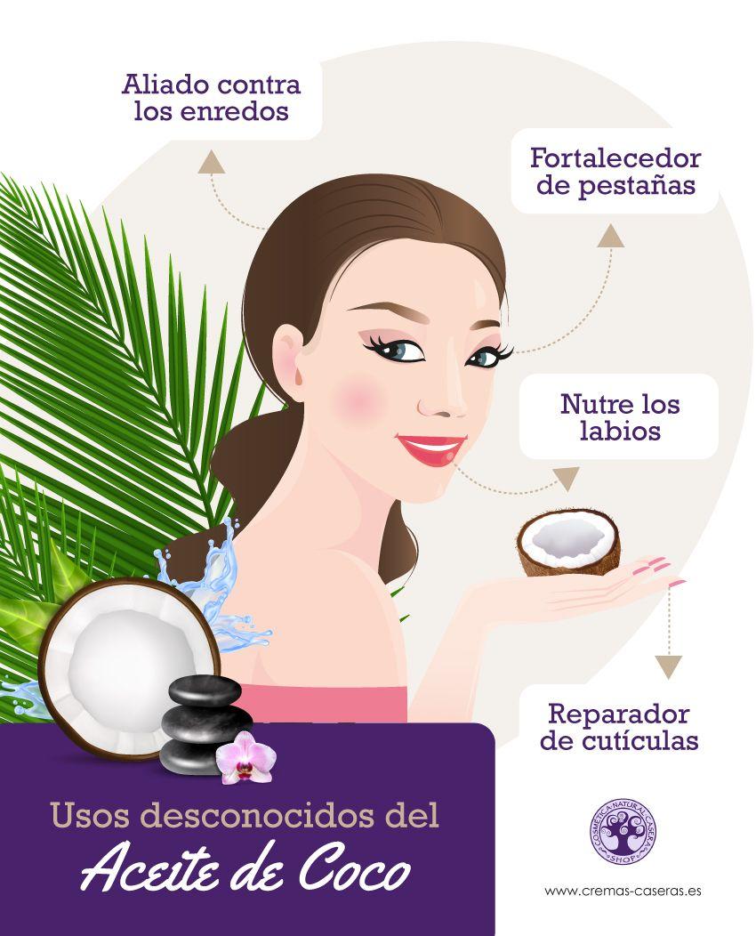 Usos Desconocidos Del Aceite De Coco En 2020 Aceite De Coco