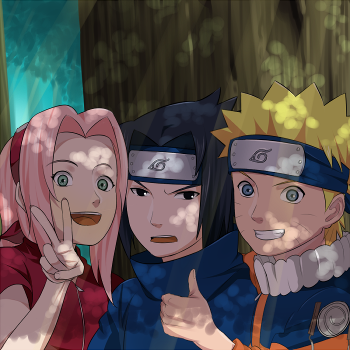 team 7 best days by blue1style Animes wallpapers