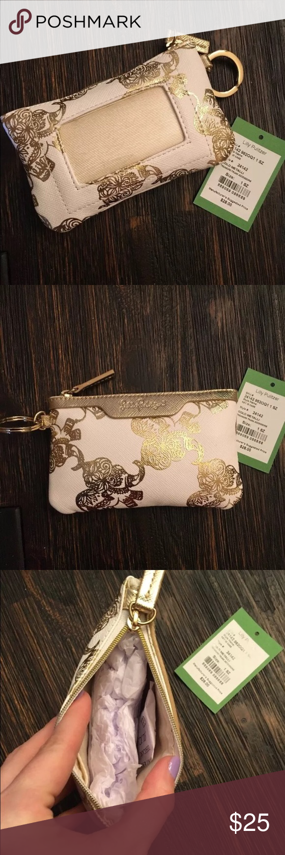 Lilly pulitzer key id wallet key card holder key and boho lilly pulitzer key id wallet easter giftid negle Choice Image