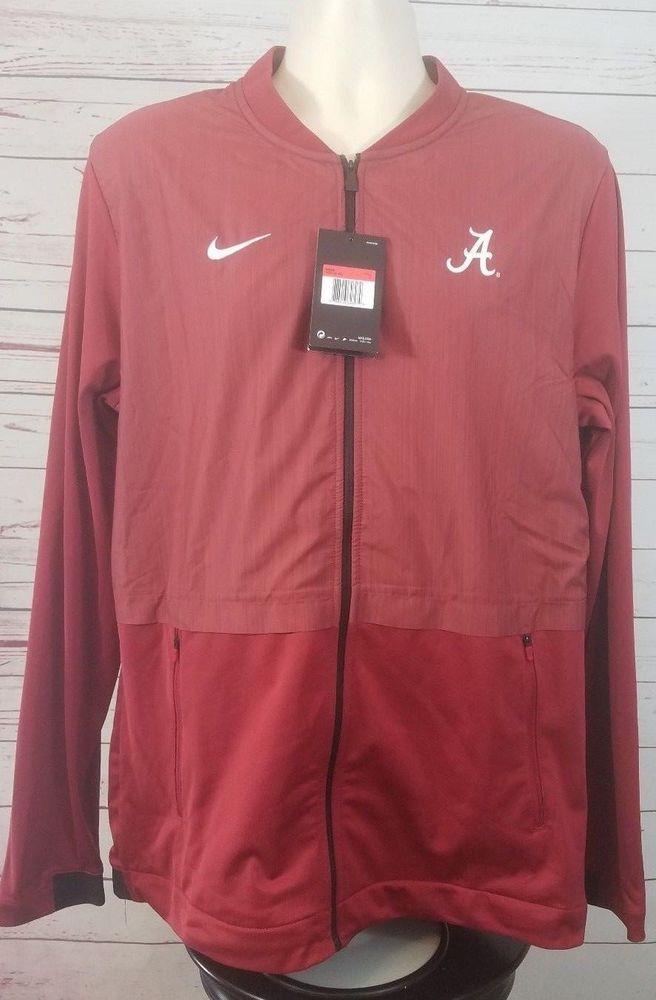 d1af50f7d3104  Nike Alabama Crimson Tide Dry Elite Hybrid Jacket Men s Large Red  908416-613  Nike  AlabamaCrimsonTide