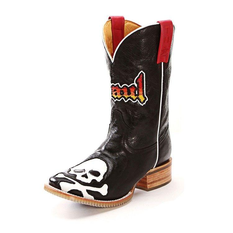 Men's Old Gringo Hitchcock Boots Black/Silver #M588-2 | Men's ...