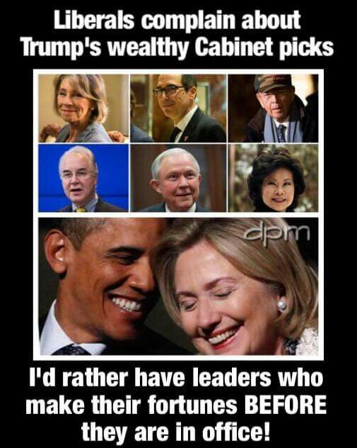Who wants corrupt people who seek riches from politics rather than ...