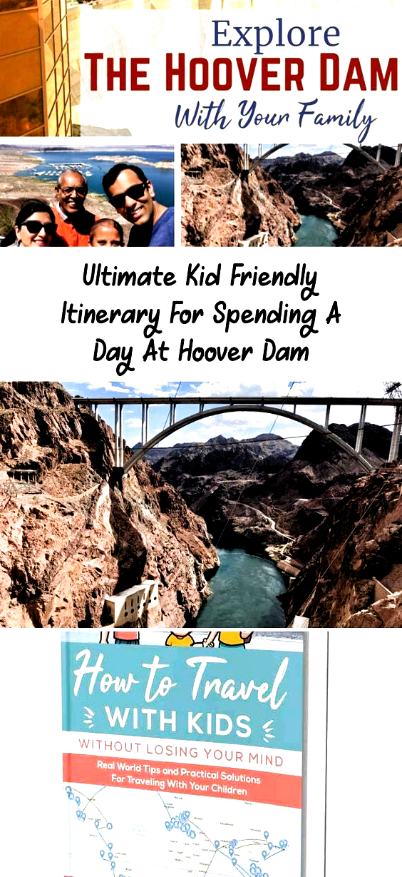 Visit the Hoover Dam with your kids for an enlightening educational experience. This unique travel destination combines functional architecture with mother nature just minutes away from Las Vegas, Nevada. Don't miss this American Icon on your United States road trip to the Midwest. #travelusa #roadtrip #hooverdam #travelingwithkids #travelbook #ustravel #Paristravel #travelPlane #travelPictures #travelWallpaper #travelBeach