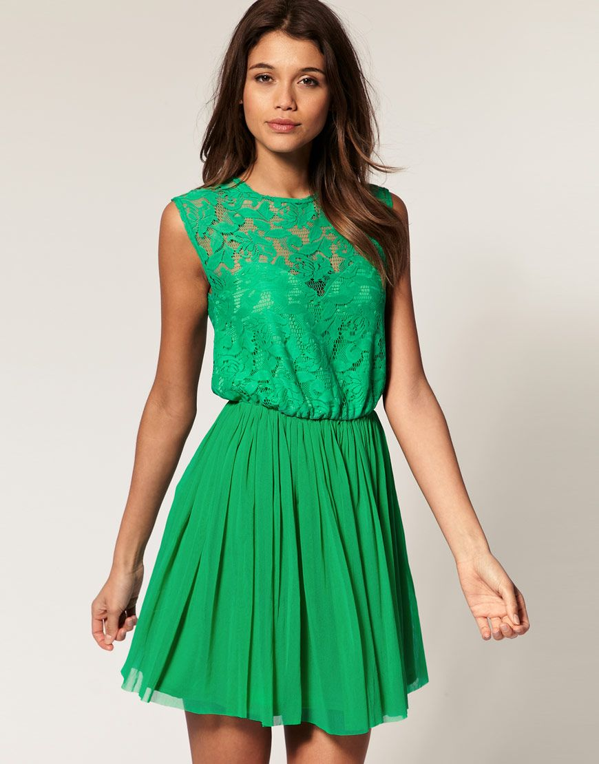 Lace dress navy blue  green lace and twirl  this dress  Pinterest  Green lace Jewel