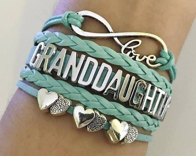 GrandDaughter Bracelet Gift Grandmother Jewelry Granddaughter Birthday