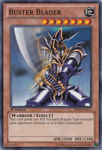 Buster Blader Yugioh Yugioh Cards Monster Cards