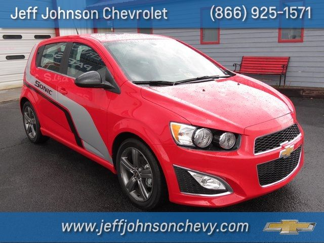 2014 Chevrolet Sonic Rs At Jeff Johnson Chevrolet In Woodlawn