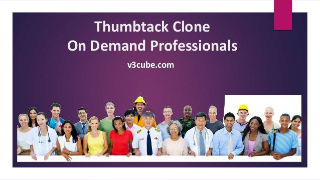 Launch your own Thumbtack Clone App for service on demand