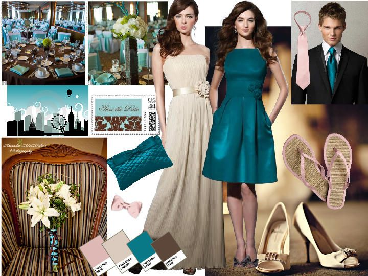 05087c949d5 cameo rose latte oasis   PANTONE WEDDING Styleboard   The Dessy Group