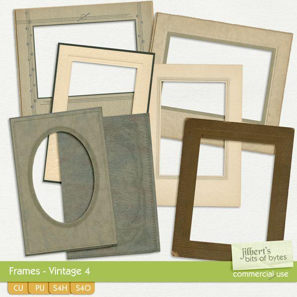 Frames - Vintage 4  #JilbertsBitsOfBytes #theStudio #cu