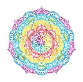 Mandala de colores tatuaje tatuajes pinterest - Colores para mandalas ...