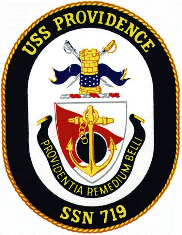 Uss Providence Ssn 719 Ship Crest Navy Patches Insignia