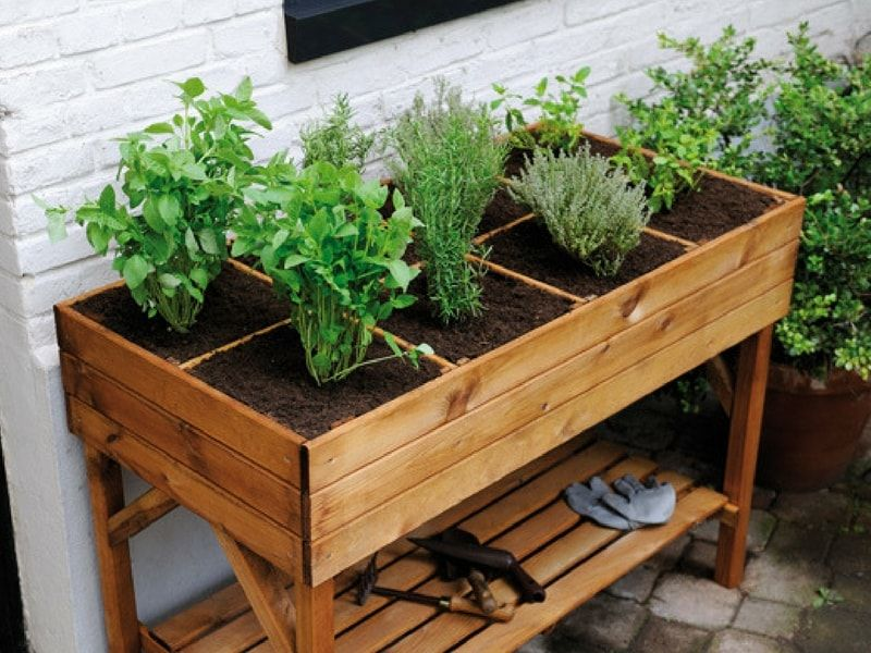 potagers sur lev s pourquoi comment les construire. Black Bedroom Furniture Sets. Home Design Ideas