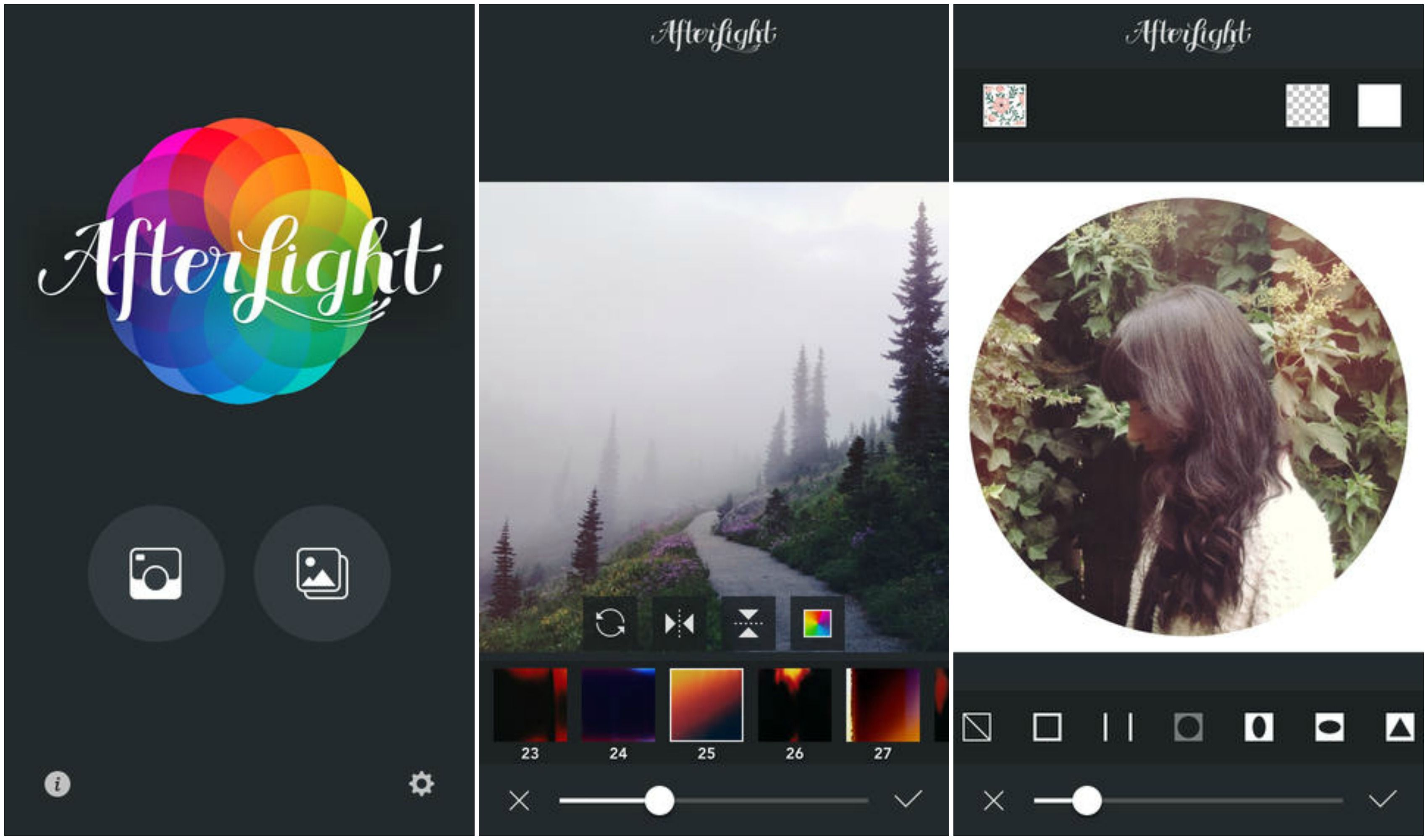 Afterlight is the perfect app for quick mobile photo editing