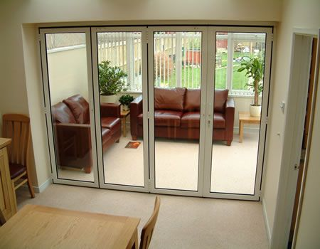 Aluminium Bifold Doors Sf55s Sf75 With Images Folding