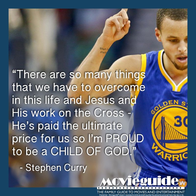Christian Athlete Quotes: Most Valuable Player 2 Years In A Row! Stephen Curry, A