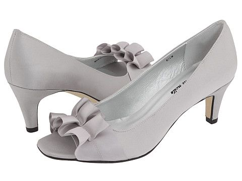 Womens Shoes Vaneli Madora Ivory Satin - Zappos Exclusive