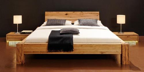 Solid Wood Bed Furniture Designs httpwwwhomenhomeorgsolid