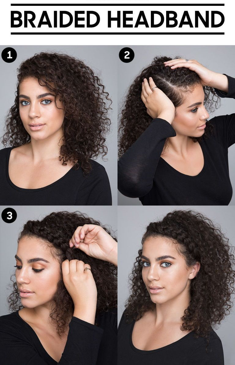 Curly Hairstyles With Braids Curly Gray Hairstyles Over 50 How To Curly Bob Hairstyles Curly Haircut In 2020 Curly Hair Tips Hair Hacks Curly Hair Styles Naturally