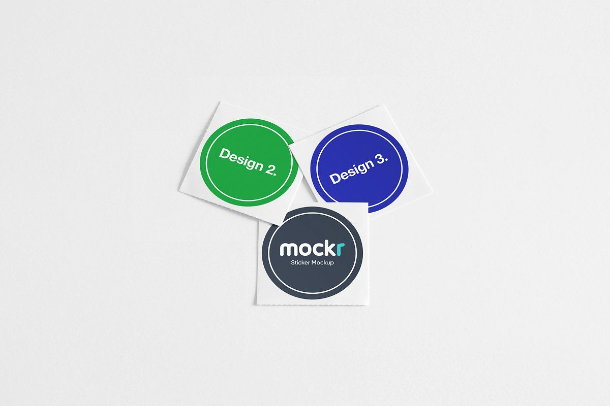 Logo Sticker Mockup Psd Logo Sticker Mockup Mockup Psd